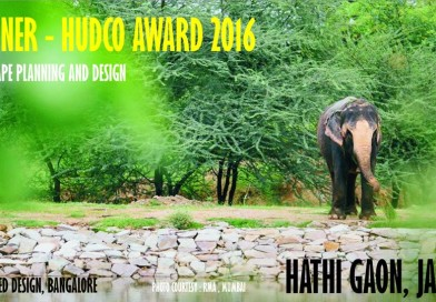 INDE has been awarded the prestigious HUDCO AWARD 2016 under the Landscape Planning and Design category for HATHI GAON.