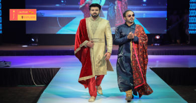"On ""The Gush Fashion show"" Mehul Suthar showcased his formidable menswear collection"