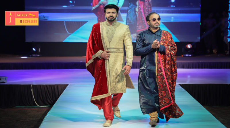 On The Gush Fashion show Mehul Suthar preset showcased his menswear collection
