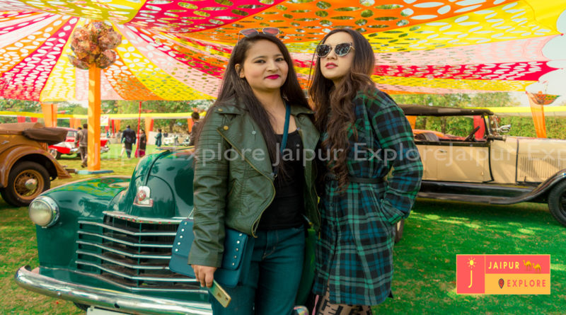 vintage car exhibition and drive 2019 Jaipur