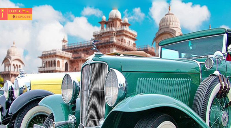 vintage car exhibition and drive jaipur, Rajasthan tourism