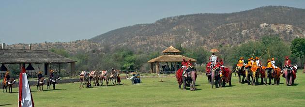 Jaipur Hathi Gaon world's third, and India's first elephant ...
